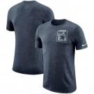 Dallas Cowboys Marled Stadium Heathered Printed T Shirt 200836