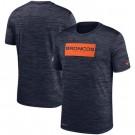 Denver Broncos Marled Stadium Heathered Printed T Shirt 200832