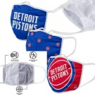 Detroit Pistons FOCO Cloth Face Covering Civil Masks 3 Pics