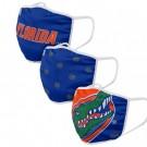 Florida Gators FOCO Cloth Face Covering Civil Masks 3 Pics