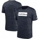 Houston Texans Marled Stadium Heathered Printed T Shirt 200816