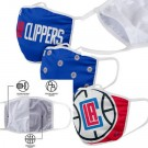 Los Angeles Clippers FOCO Cloth Face Covering Civil Masks 3 Pics