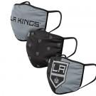 Los Angeles Kings FOCO Cloth Face Covering Civil Masks 3 Pics