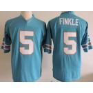 Men's Ace Ventura #5 Ray Finkle Light Blue Football Jersey