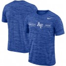 Men's Air Force Falcons Royal Velocity Sideline Legend Performance T Shirt 201060