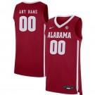 Men's Alabama Crimson Tide Customized Red 2019 College Basketball Jersey