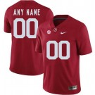 Men's Alabama Crimson Tide Customized Red Rush College Football Jersey