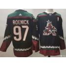 Men's Arizona Coyotes #97 Jeremy Roenick Black Alternate Authentic Jersey