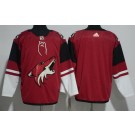 Men's Arizona Coyotes Blank Red Jersey