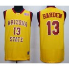 Men's Arizona State Sun Devils #13 James Harden Yellow 2015 College Basketball Jersey