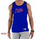Men's Atlanta Braves Printed Tank Top 18139