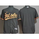 Men's Baltimore Orioles Blank Black FlexBase Jersey