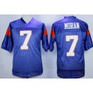 Men's Blue Mountain State #7 Alex Moran Blue Football Jersey