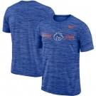 Men's Boise State Broncos Royal Velocity Sideline Legend Performance T Shirt 201048