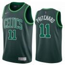 Men's Boston Celtics #11 Payton Pritchard Green 2021 Earned Icon Hot Press Jersey