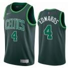 Men's Boston Celtics #4 Carsen Edward Green 2021 Earned Icon Hot Press Jersey