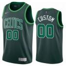 Men's Boston Celtics Custom Green 2021 Earned Icon Hot Press Jersey