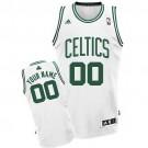 Men's Boston Celtics Customized White Swingman Adidas Jersey