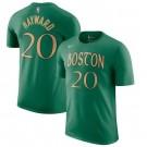 Men's Boston Celtics Green Printed T Shirt 211064