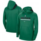 Men's Boston Celtics Green Spotlight On Court Practice Performance Pullover Hoodie
