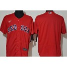 Men's Boston Red Sox Blank Red FlexBase Jersey