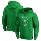 Men's Boston Red Sox Green Printed Pullover Hoodie