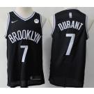 Men's Brooklyn Nets #7 Kevin Durant Black Icon Sponsor Swingman Jersey