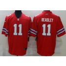 Men's Buffalo Bills #11 Cole Beasley Limited Red Rush Color Jersey