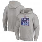 Men's Buffalo Bills Gray 2020 NFL Playoffs Bound Shift Pullover Hoodie
