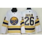 Men's Buffalo Sabres #26 Rasmus Dahlin White 50th Anniversary Authentic Jersey