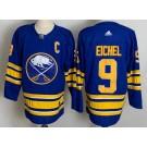 Men's Buffalo Sabres #9 Jack Eichel Blue 2021 Authentic Jersey
