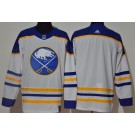 Men's Buffalo Sabres Blank White 2021 Authentic Jersey