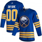 Men's Buffalo Sabres Customized Royal 2021 Authentic Jersey