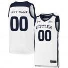 Men's Butler Bulldogs Customized White 2019 College Basketball Jersey