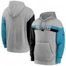 Men's Carolina Panthers Gray Heathered Heritage Tri Blend Pullover Hoodie