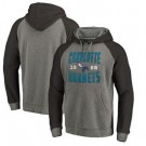 Men's Charlotte Hornets Gray 1 Printed Pullover Hoodie