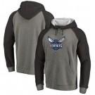 Men's Charlotte Hornets Gray 2 Printed Pullover Hoodie