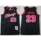 Men's Chicago Bulls #23 Michael Jordan Black 1997 Hollywood Classic Swingman Jersey