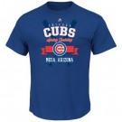 Men's Chicago Cubs Printed T Shirt 10737