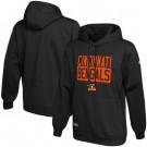 Men's Cincinnati Bengals Black School of Hard Knocks Pullover Hoodie