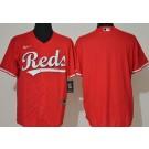 Men's Cincinnati Reds Blank Red Cool Base Jersey