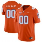 Men's Clemson Tigers Customized Orange Rush College Football Jersey