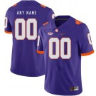 Men's Clemson Tigers Customized Purple Rush College Football Jersey