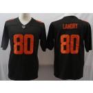 Men's Cleveland Browns #80 Jarvis Landry Limited Brown Alternate 2020 Vapor Untouchable Jersey
