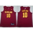 Men's Cleveland Cavaliers #10 Darius Garland Red Icon Sponsor Swingman Jersey