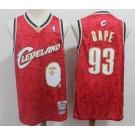 Men's Cleveland Cavaliers #93 Bape Red 2003 Swingman Jersey