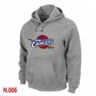 Men's Cleveland Cavaliers Grey Printed Pullover Hoodie