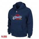 Men's Cleveland Cavaliers Navy Blue Printed Pullover Hoodie