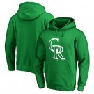 Men's Colorado Rockies Green Printed Pullover Hoodie