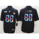 Men's Dallas Cowboys #88 CeeDee Lamb Limited Black Crucial Catch Vapor Untouchable Jersey
